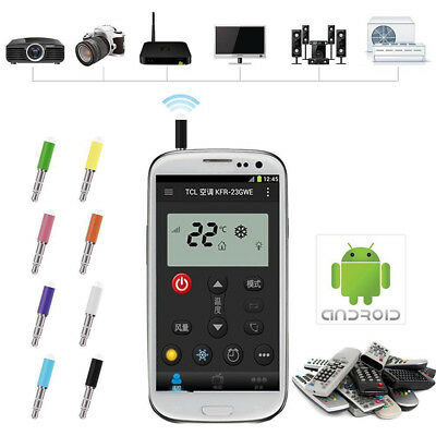 Universal 3.5mm IR Infrared Remote Control TV STB DVD For Android Cell Phone