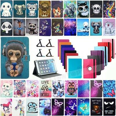 "For Huawei MediaPad T3 7"" 8"" 10"" 2017 Tablet Universal Slim Leather Case Cover"