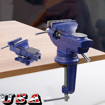 Fabulous 4 5 6 Bench Vise Work Table Bench Clamp Swivel Rotated Gmtry Best Dining Table And Chair Ideas Images Gmtryco