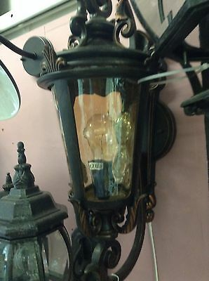 Large A/B Exterior Wall Light Victorian Federation French Country Vintage Wb4
