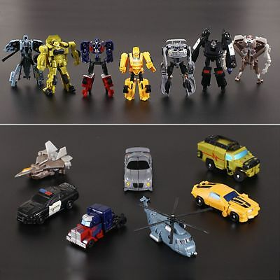 Transformation Transformer Robot and Cars Kids Child Toys Action Figures Gifts