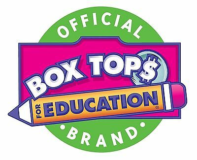 100 BOX TOPS FOR EDUCATION BTFE TRIMMED None Expired. Ship Today! Tracked Lot