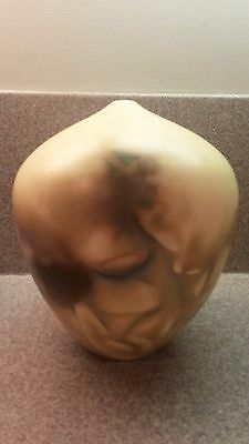 Signed Hand Crafted Studio Art Pottery Weed Pot Vase Mid Century Modern