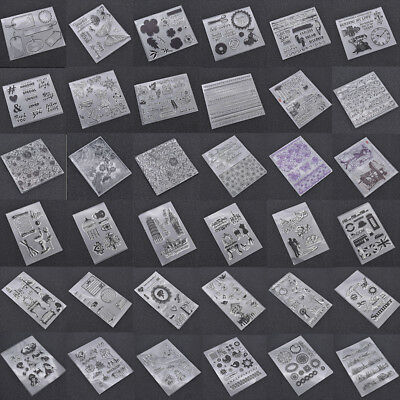 1x Transparent Clear Silicone Rubber Stamp Scrapbook Cards Decoration DIY Crafts