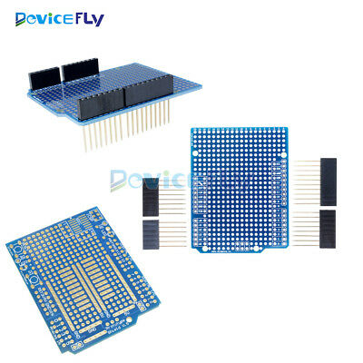 Prototype PCB for Arduino UNO R3 Shield Board FR-4 Fiber 2mm+2.54mm Pitch