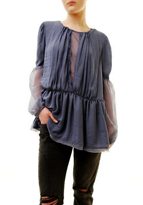 eb9d5800948 Free People Women's Authentic The Soul Serene Top River Size XS RRP 92 BCF71