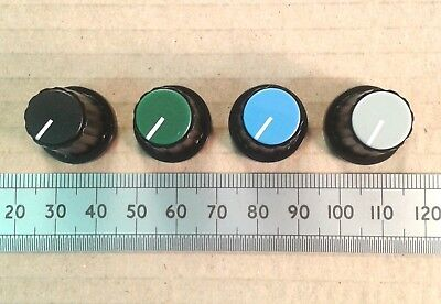 "19mm Plastic Control Knob for 0.25"" 6.4mm D-Shaft, Movable Pointer Caps CPAA19"