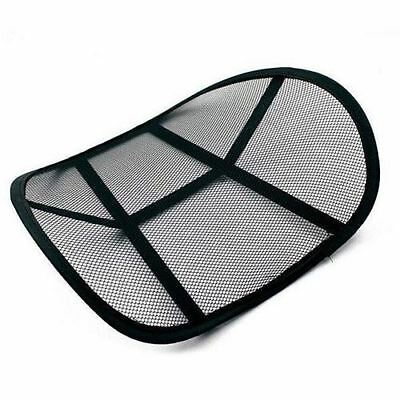 Air Flow Lumbar Lower Back Support Cushion Pain Relief Seat Posture Corrector
