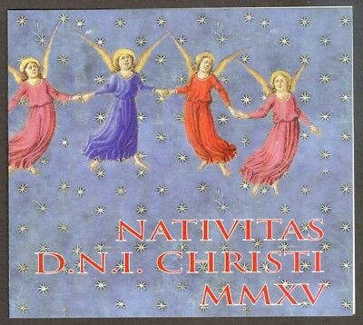 Vatican City 2015 Booklet, Christmas, Sc #1611a MNH