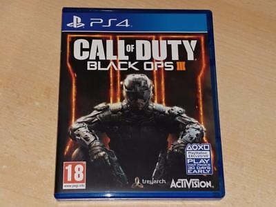 Call of Duty Black Ops III PS4 Playstation 4 **FREE UK POSTAGE**