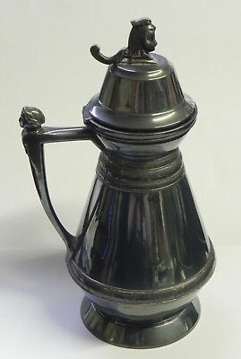 Antique Wilcox Silver Plated Syrup Pitcher Jug 1865