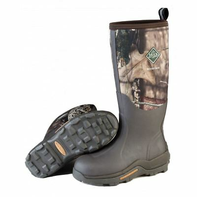 Muck WDM-MOCT Woody Max Mens Bark/Mossy Oak Cold Conditions Hunting Boots
