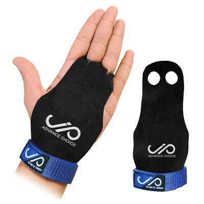 JP Gymnastics Leather Palm Protector Pull Up Gloves Hand Guard Barbell Grips