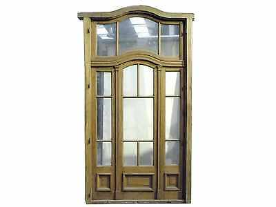Antique Triple Patio Door With Transom #B1812
