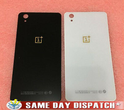 New Replacement Battery Back Cover Door Glass Rear Panel Oneplus x E1001 UK