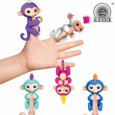 Alientech Interactive Baby Pet Electronic Monkey Kids Toy Finger Sound Gifts