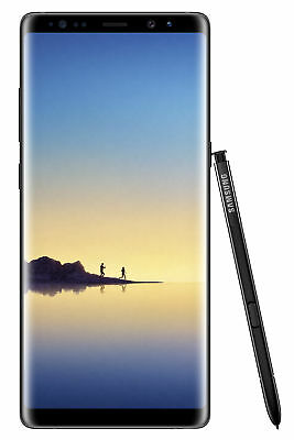 New Samsung Galaxy Note8 SM-N950 - 64GB - Midnight Black GSM Unlocked (Tmobile)