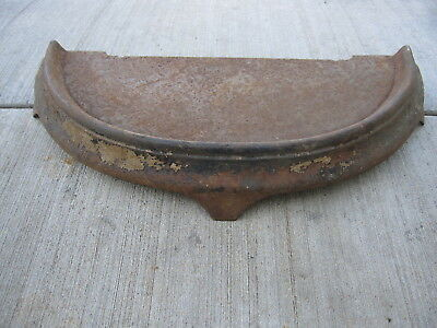 Antique Victorian Cast Iron Fireplace Tool Base Accessories Stand Pot Belly