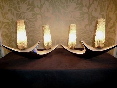 A Pair Of Mid Century Vallauris Lamps