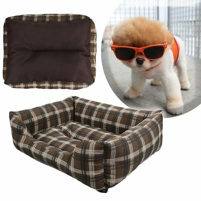 Soft Washable Dog Cat Pet Bed Cushion Rectangle Pet Bed All Season Pet Bed