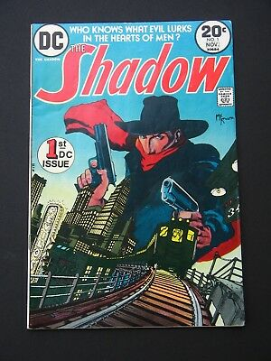Shadow #1,2,3,4,5,6,7,8,9,10,11,12 VF 1973 Full Run Lot of 12 High Grade DC