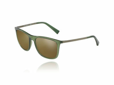 ac1f1ca208501 Dolce   Gabbana Sunglasses DG6106 3068 Y8 Trans Green Frames Brown Lens 55mm