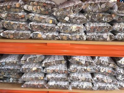 50 kg of Assorted World Coins - Free Shipping in Australia!