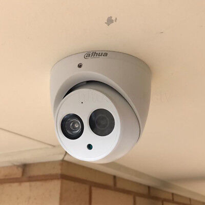 Dahua IPC-HDW4631C-A HD 6MP Built-in Mic Audio Home Security CCTV PoE IP Cameras