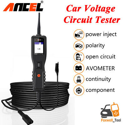 12V Car Circuit Tester Electrical Test Tool Featuring AVOmeter Power Scan PB100