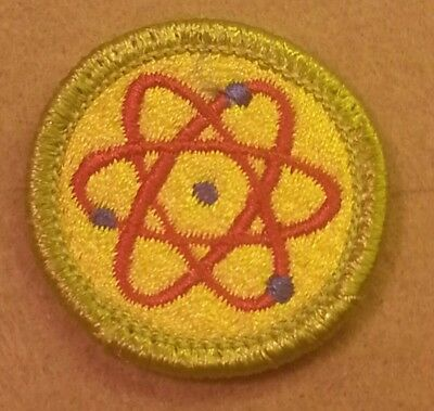1972-02 BSA COIN COLLECTING Merit Badge Type H PLASTIC BACK  A00092