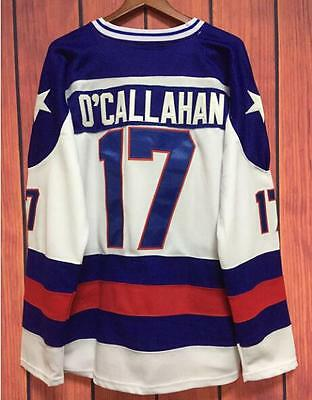 17 Jack O Callahan 1980 Miracle On Ice Hockey Jersey Movie All Stitched S- 936d1e000