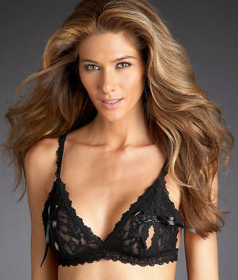 1ca74c604ce5d HANKY PANKY AFTER Midnight Peek-A-Boo Bralette - Women s  487831 ...
