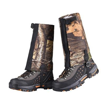 Short Waterproof Leg Gaiters Boots Shoes Cover Legging Hunting Hiking
