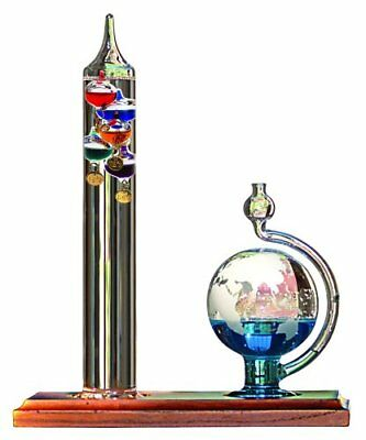 Acurite Galileo Glass Indoor Thermometer w/ Barometer Ball 00795A2