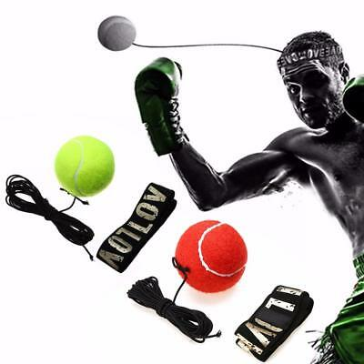 Boxing Punching Training Speed Ball Tennis Punch Training Fitness Sports Hot FT