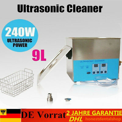 9L Ultraschall Reiniger Ultraschallreinigungsgerät Ultrasonic Cleaner mit Korb
