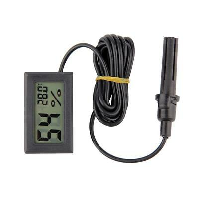 Mini Digital LCD Thermometer Hygrometer Humidity Temperature Meter Indoor New FT