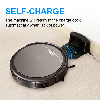 ILIFE A4S Smart Cleaning Robot Limpidador Cleaner Auto Vacuum +IR Remote Control