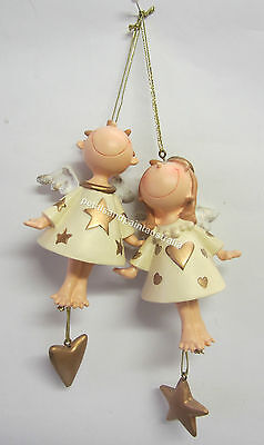 New Hanging Fairy or Angel Doll With Star, Heart Please Select