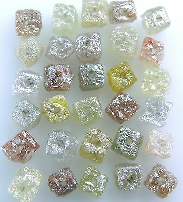 Natural Loose Diamond Rough Drilling Cube Mix Color I3 Clarity 3.00 ct lot J3