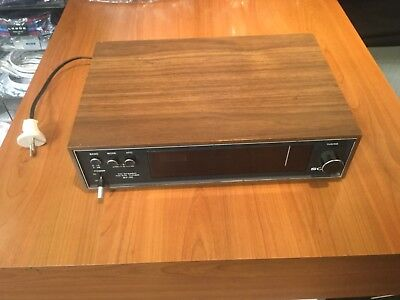 sony tuner st 70  retro space age vintage wood radio