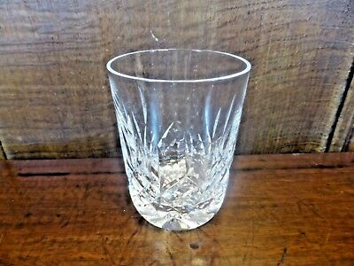 "EXCELLENT WATERFORD crystal LISMORE small TUMBLER/GLASS - 3 1/2"" - 5 fl oz"