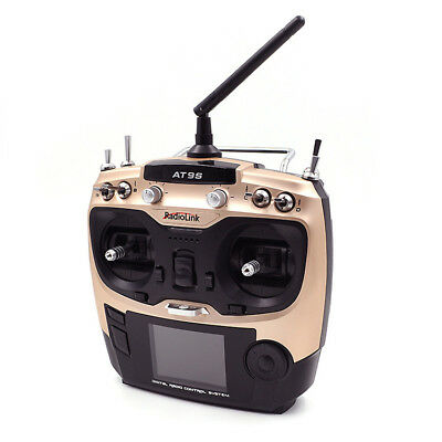 RADIOLINK - 10CH Digial Transmitter AT9S 2.4GHz M2 + R9DS receiver - GALAXY RC