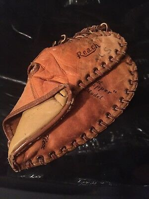 Vintage Reach Baseball Trapper glove model 4335 Excellent Leather