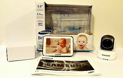 "Samsung Pan/Tilt/Zoom 5""Bright View Baby Video Monitoring System - SEW-3043W"