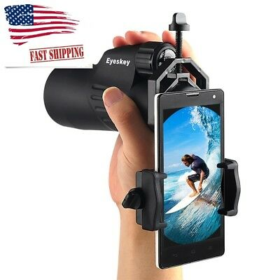 Smartphone Telescope Adapter Mount For Scope Binocular Monocular Camera Lens