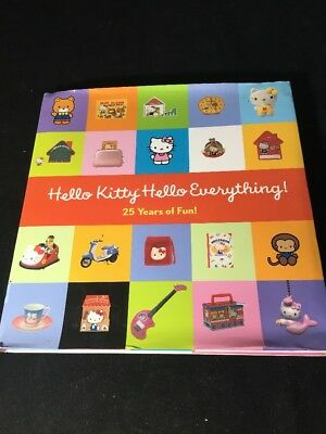 Hello Kitty, Hello Everything: 25 Years of Fun Moss, Marie Hardcover $17.95