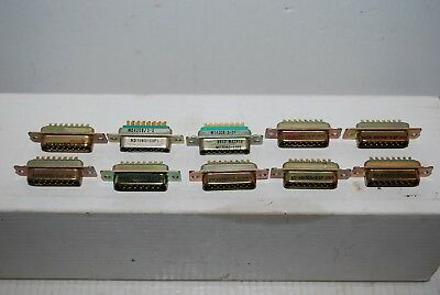 M24308/3-2 Subminiature Connectors 15 Pin- (1 Lot of 10 ) - NOS