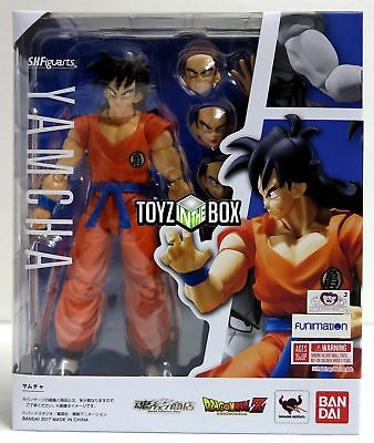 "In STOCK S.H. Figuarts Dragonball Z ""Yamcha"" DBZ Dragon Ball Action Figure"