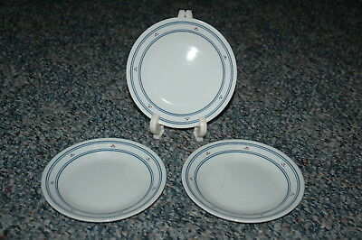 """Corning Corelle - COUNTRY HEARTS - 6 3/4"""" Bread & Butter Plates (3)"""